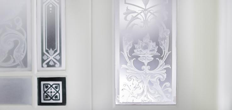Glasplatte Und Spiegel Nach Mass Mit Facettenschliff
